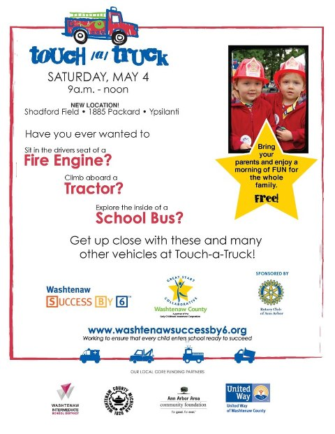 touch a truck washtenaw county free