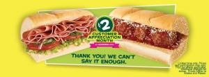 subway deal